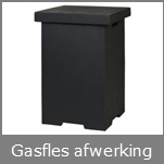 Gasfles afwerking