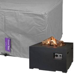 Beschermhoes vierkante vuurtafel groot