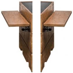 Zijtafel set teak voor vierkant en rechthoek