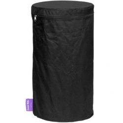 PVC cover gas tank zwart