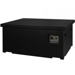 Deksel Cocoon Table rechthoek zwart