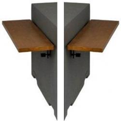 Zijtafel set voor vierkant en rechthoek